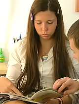 Tight teen holes learning a good lesson